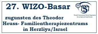 WIZO-Basar 2010 zugunsten des Theodor Heuss-Familientherapiezentrums in Herzliya/Israel