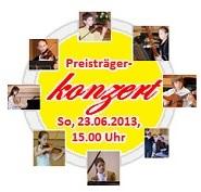 7. Karl-Adler-Jugendmusikwettbewerb Baden-Württemberg  -  Preisträgerkonzert am 23.06.2013, 15.00 Uhr, IRGW