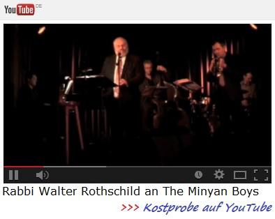 Rabbi Walter Rothschild and The Manyan Boys - Kostprobe auf YouTube