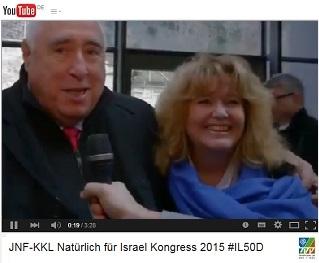 Kurzfilm zum 'Natürlich für Israel Kongress' am 08.02.2015 im Kursaal in Stuttgart-Bad Cannstatt