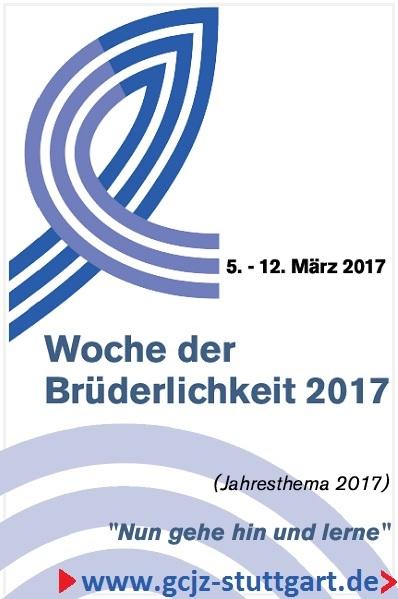 Woche der Brüderlichkeit der GCJZ Stuttgart e.V.