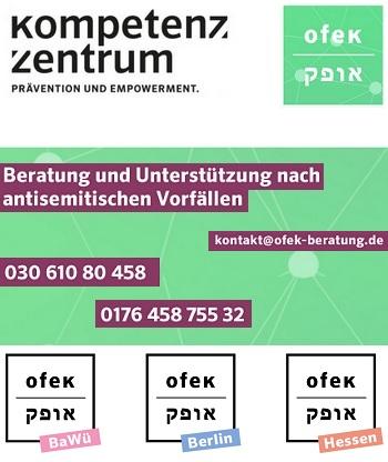 Beratungs- und Interventionsstelle bei antisemitischer Gewalt und Diskriminierung