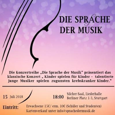 Die Sprache der Musik - Die Konzertreihe