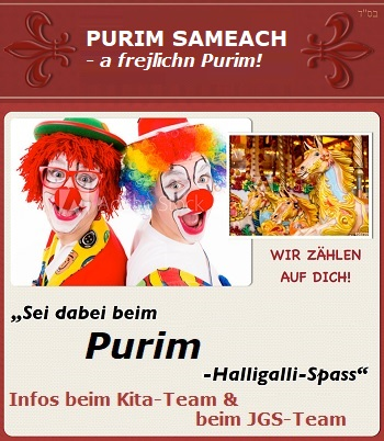 Purim Sameach - a frejlichn Purim!