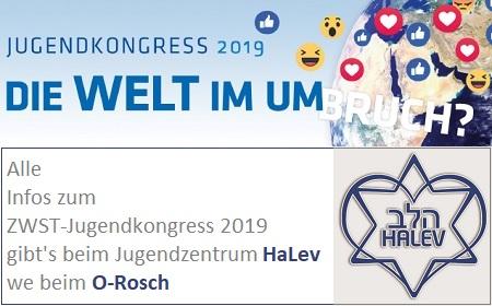 ZWST-Jugendkongress 2019 - Die Welt im Umbruch