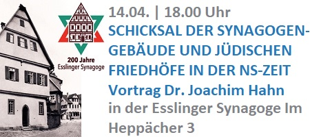 200 Jahre Synagoge Esslingen