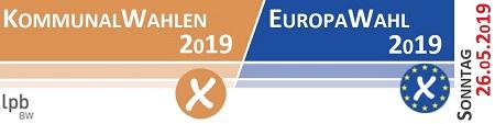 Sonntag, 26.05.2019 - Kommunal- und Europawahl