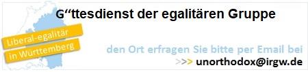 Egalitäre Gruppe der IRGW - mehr Infos unter: www.irgw.de/egalitaer