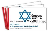 Jüdische Kulturwochen Stuttgart 2019