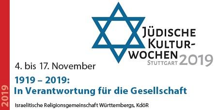 Jüdische Kulturwochen 2019 - 1919-2019: In Verantwortung für die Gesellschaft