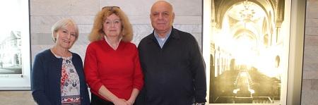 Vorstand der IRGW - Susanne Jakubowski, Prof. Barbara Traub (Vorstandssprecherin) und Michael Kashi
