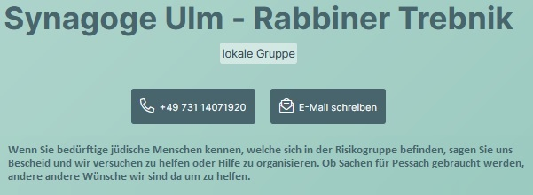 Nachbarn helfen Nachbarn in Ulm