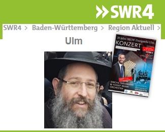 20 Jahre IRGW-Zweigstelle Ulm - Rabbiner Shneur Trebnik im SWR4-Portrait