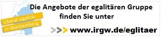 Angebote der egalitären Gruppe unter www.irgw.de/egalitaer