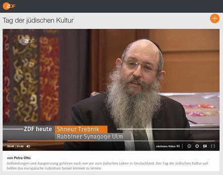 Eurpäischer Tag der Jüdischen Kultur am 06.09.2020