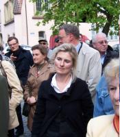 Weinhof, Ulm - Startschuss für die archäologischen Grabungen am 26.04.2010