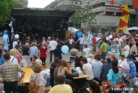 Israeltag in Stuttgart am 10. Mai 2011