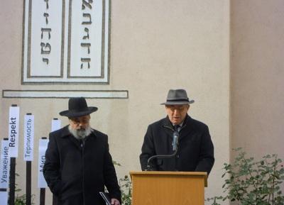 Landesrabbiner Netanel Wurmser warnt vor den Gefahren von Antisemitismus und Intoleranz