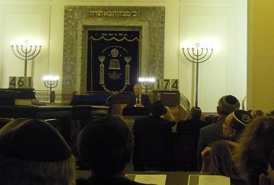 GCJZ-Vorstandssprecher Bürgermeister Dr. Martin Schairer spricht für die GCJZ und die Landeshauptstadt Stuttgart